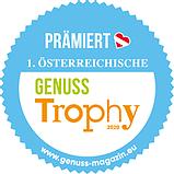 Auszeichnung Genusstrophy 2020